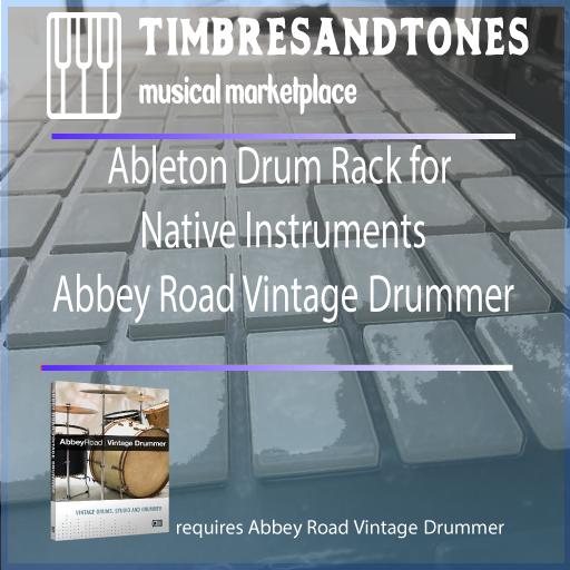 Ableton Drum Racks Native Instruments Abbey Road Vintage Drummer