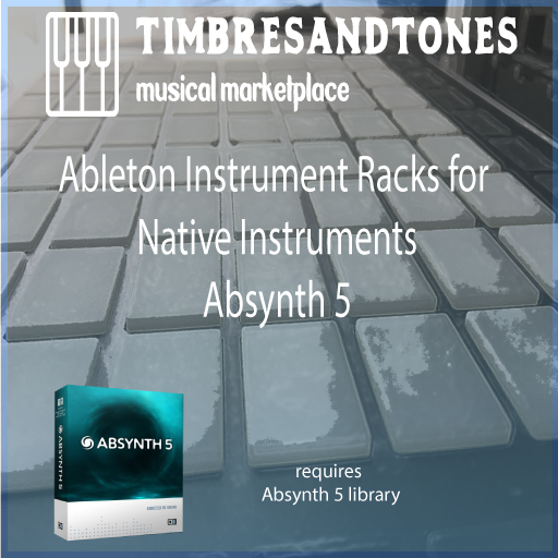 Ableton Instrument Racks for Native Instruments Absynth 5