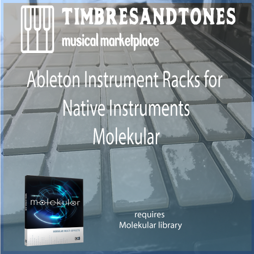 Ableton Instrument Racks for Native Instruments Molekular