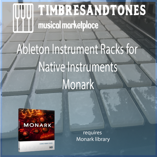 Ableton Instrument Racks for Native Instruments Monark