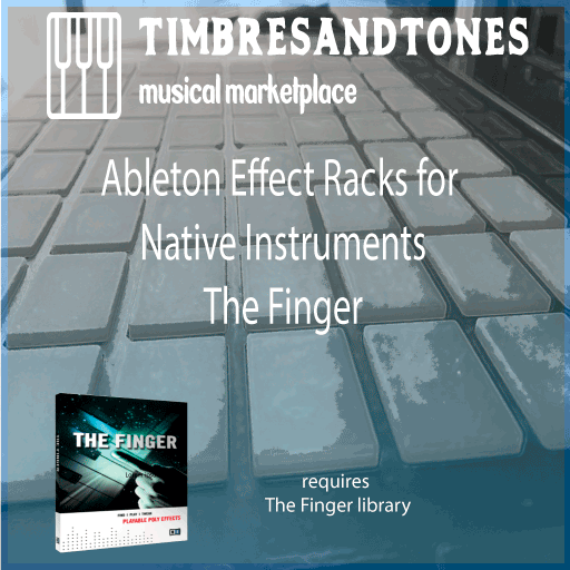 Ableton Instrument Racks for Native Instruments The Finger