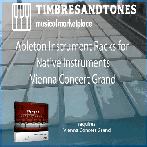 Ableton Instrument Racks for Native Instruments Vienna Concert Grand library
