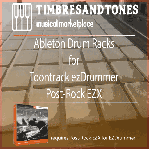 Ableton Drum Racks for ezDrummer Post-Rock Hits