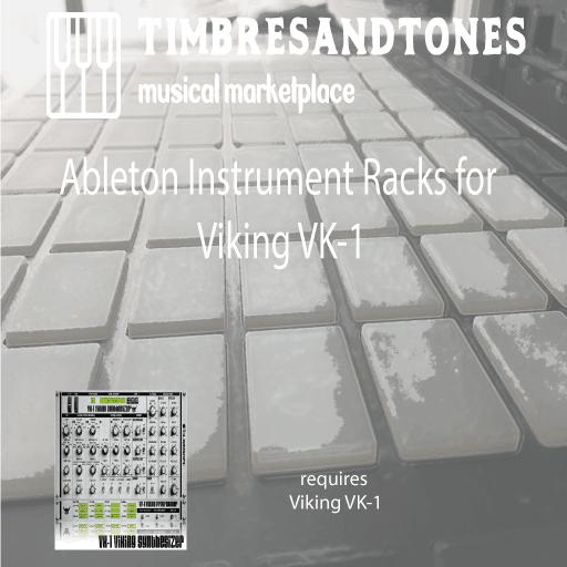 Ableton Instrument Racks for VK-1 Viking VST