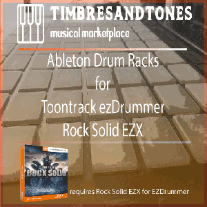 Ableton Drum Racks for ezDrummerRock SolidEZX