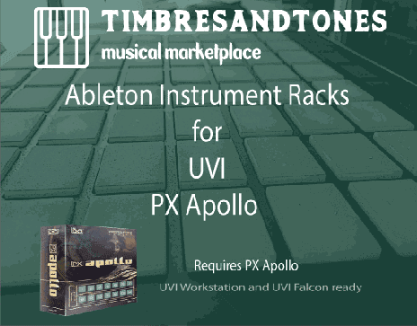Ableton Instrument Racks for UVI PX Apollo