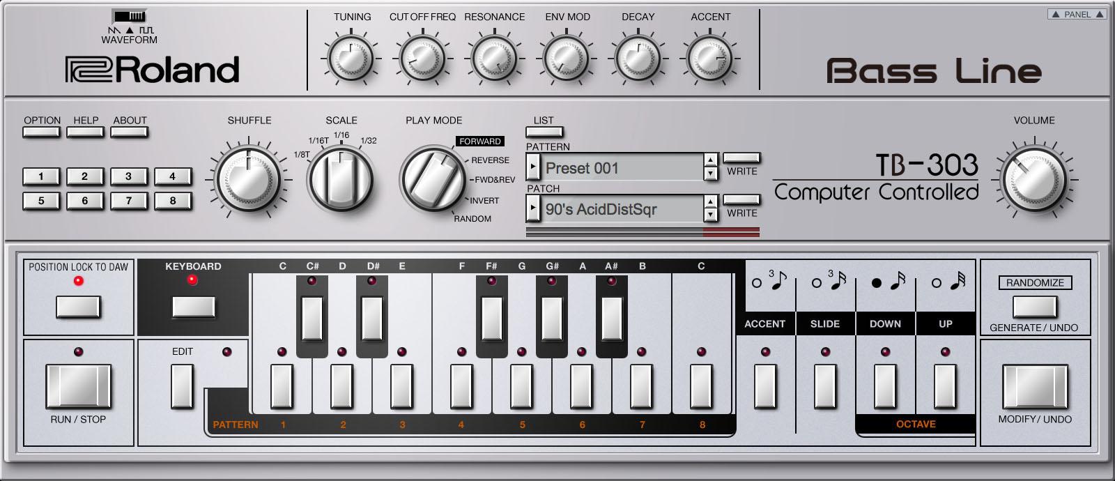 KVR: Roland Cloud adds Roland TB-303 Software Bass