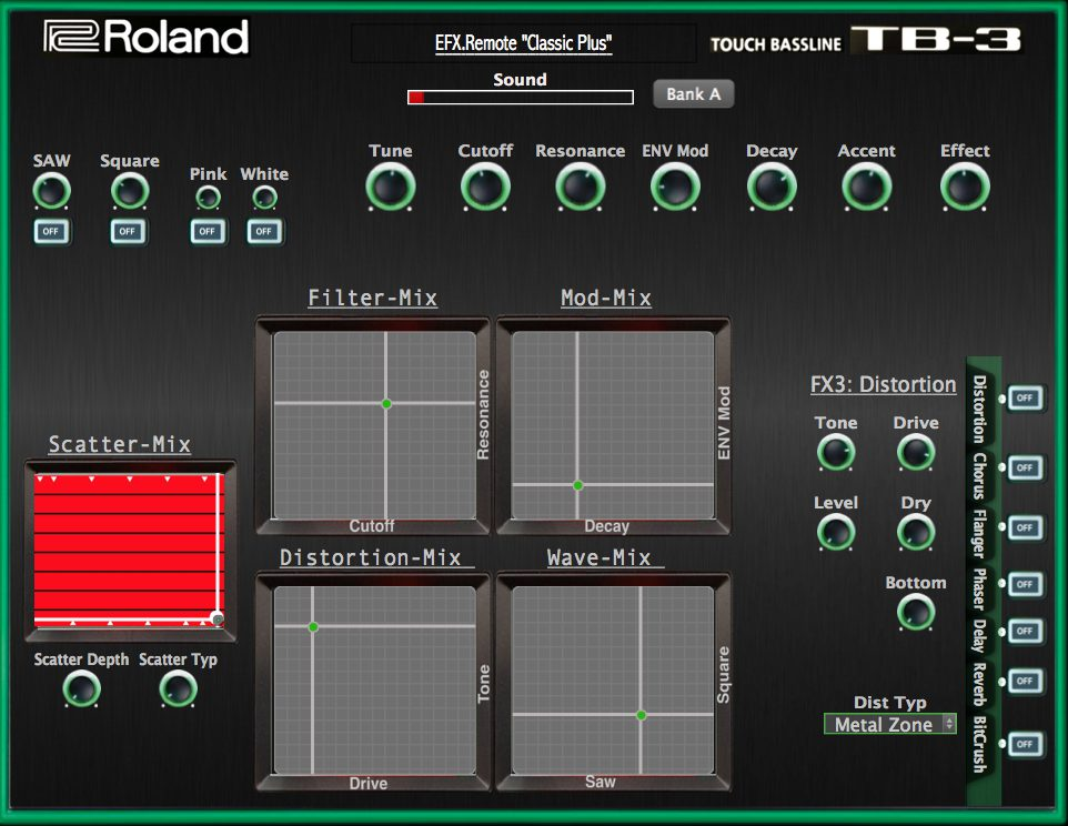 KVR: TB-3 Editor Classic PLUS by Momo - MIDI Controller VST