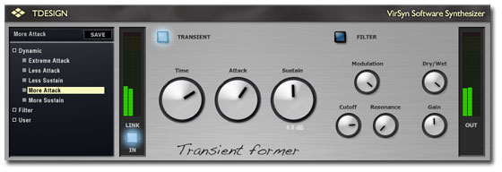 TDesign - The Transient Former