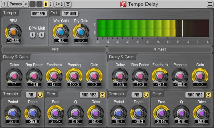 Tempo Delay