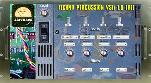 Techno Percussion VSTi 1.0