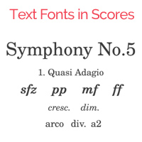 Elbsound Text Fonts Package