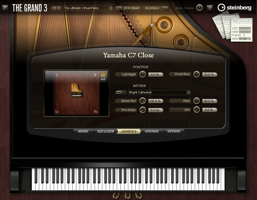 KVR: The Grand by Steinberg - Grand Piano VST Plugin, Audio