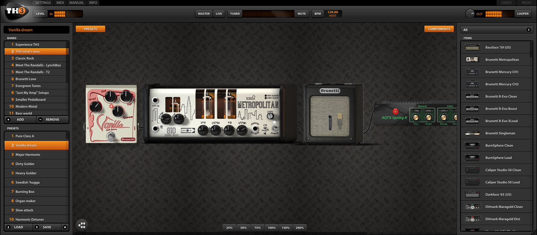 KVR: TH3 by Overloud - Distortion / Overdrive / Amp VST