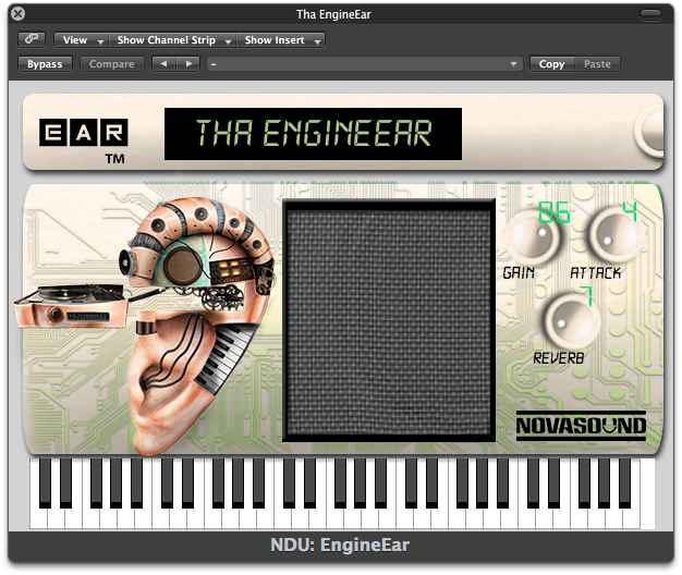 Nova Drum Unit: Tha EngineEar