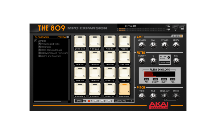 KVR: the 809 by AKAI - MPC VST Plugin