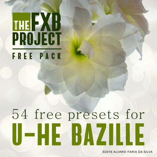 54 Free presets for U-He Bazille
