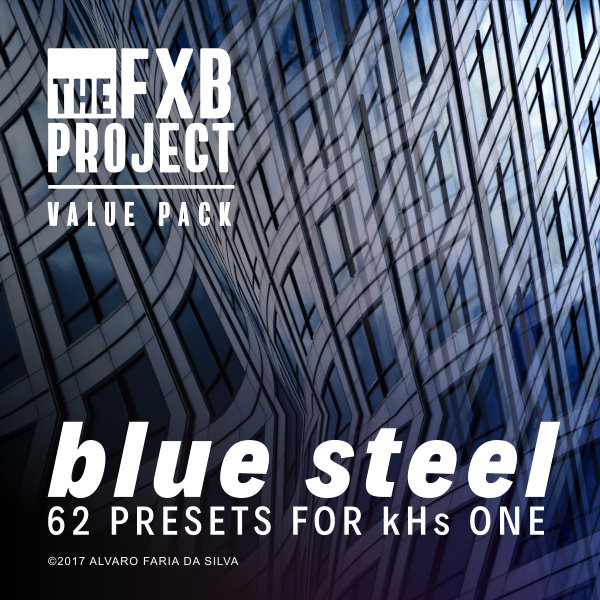 Blue Steel: 62 presets for kHs ONE