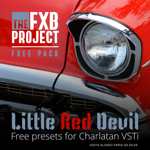 Little Red Devil - 128 free presets for Charlatan 2