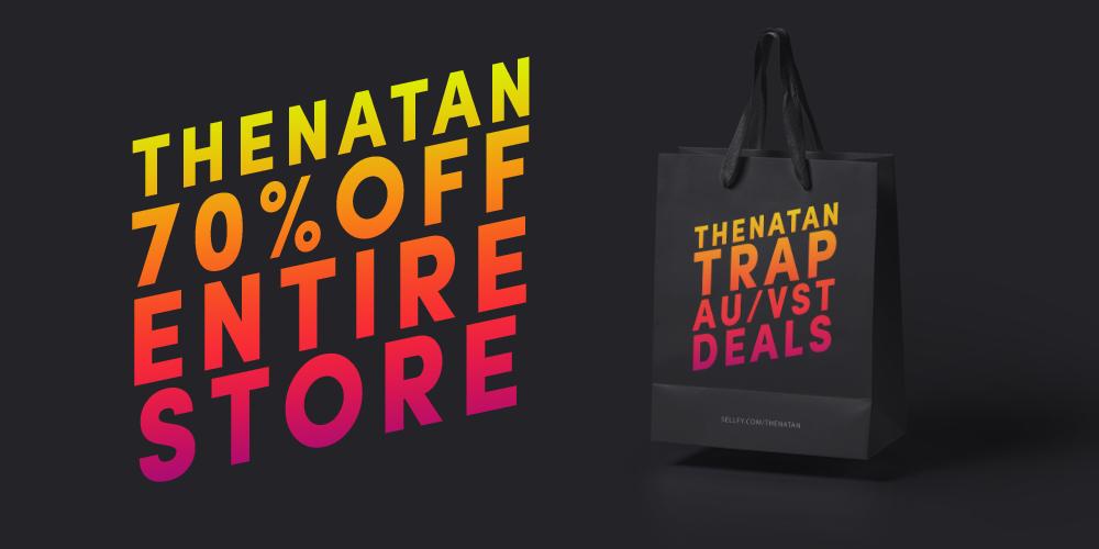 KVR: #KVRDeal Thenatan Trap AU/VST Deals (70% Off - Entire