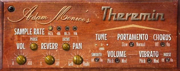 KVR: Adam Monroe's Theremin by Adam Monroe Music - Theremin VST