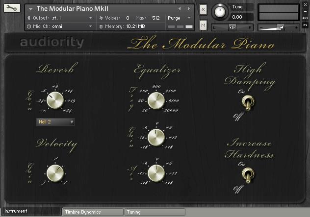 The Modular Piano