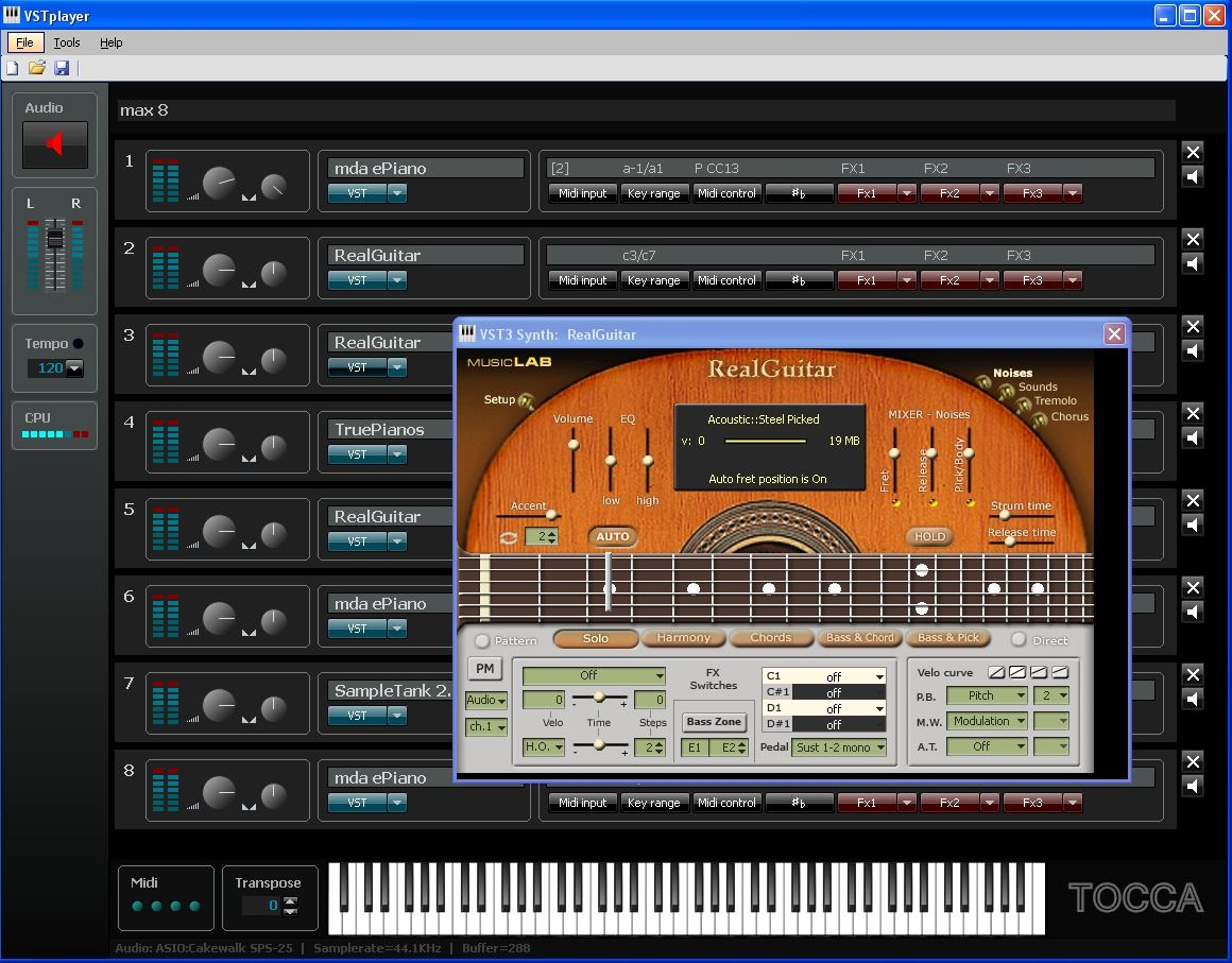 KVR: Tocca-Music releases VSTplayer
