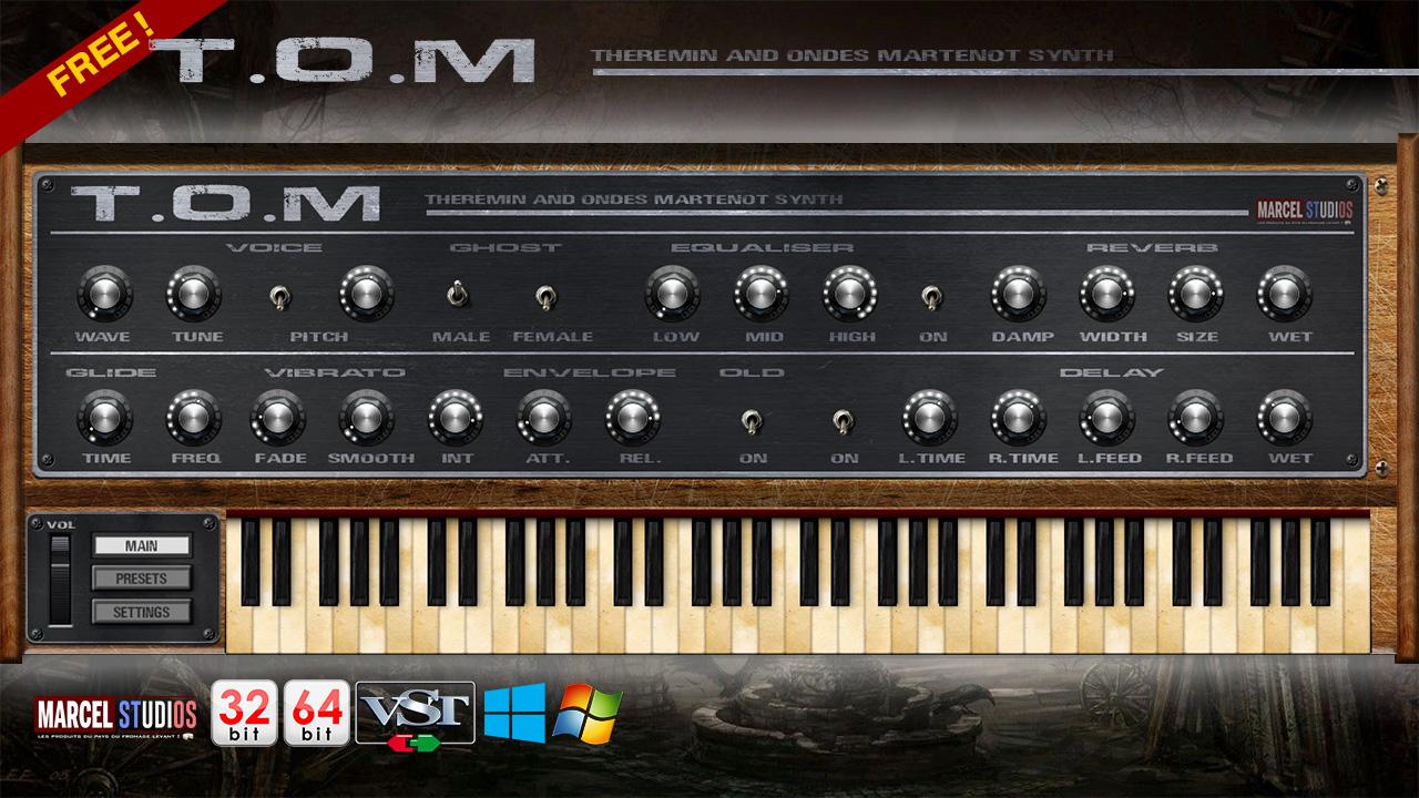 KVR: TOM by MARCEL studios - Theremin VST Plugin