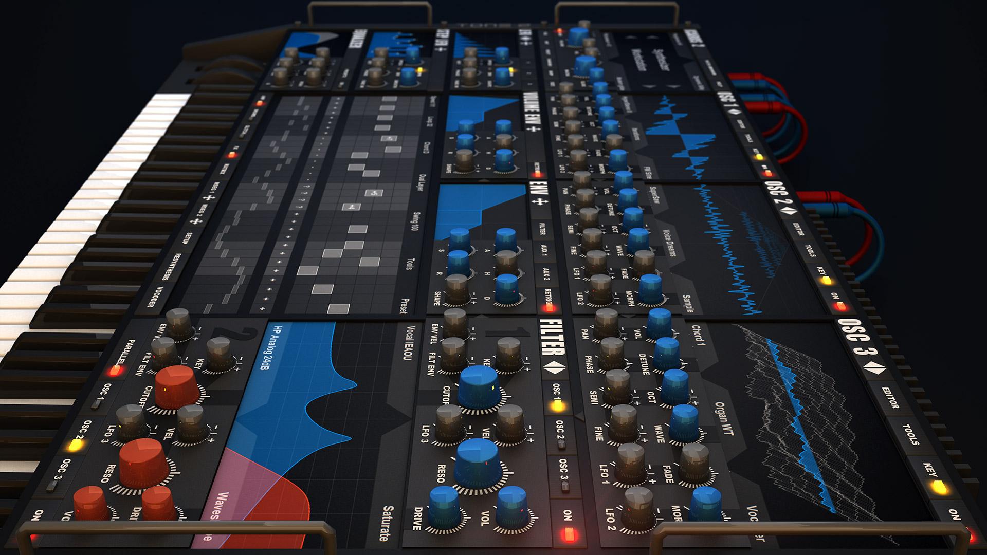 KVR: Icarus2 by Tone2 Audiosoftware - Workstation VST Plugin