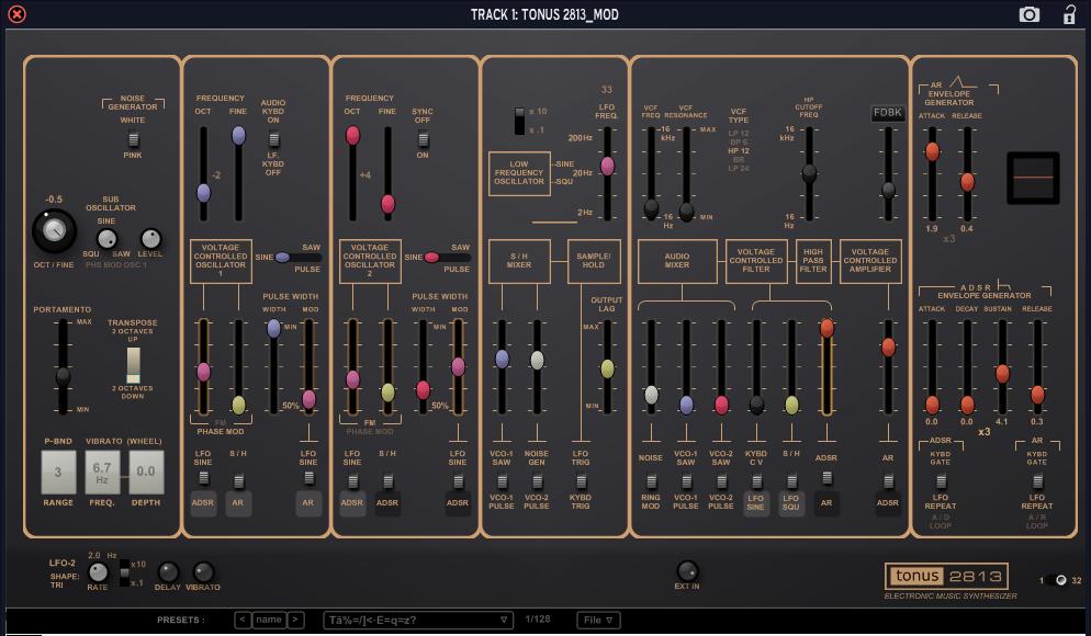 KVR: Tonus 2813 presets by Lay-It Productions - Tonus 2813 VST Plugin