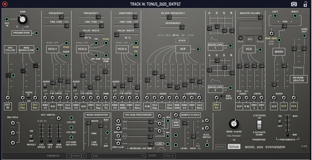 Tonus 2620