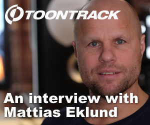 The beat of a different drummer: An interview with Mattias Eklund from Toontrack