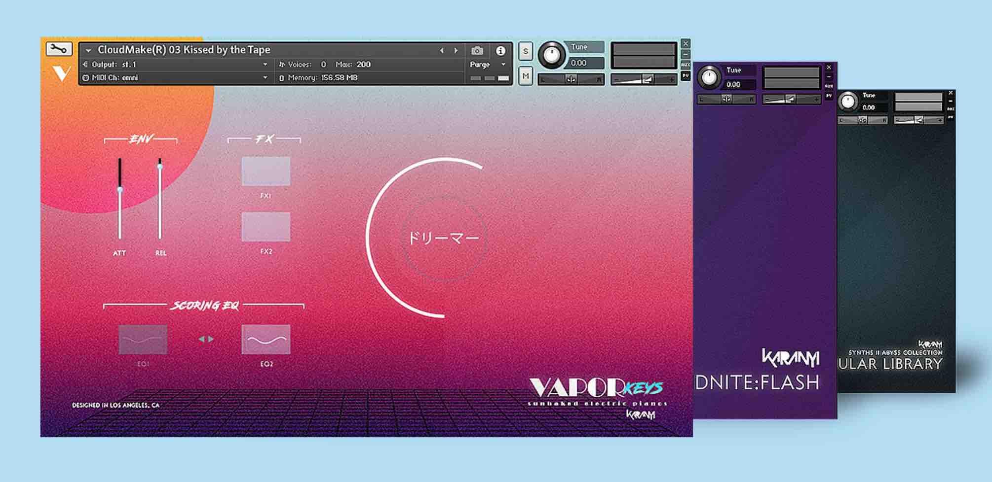 Total Bundle (Synths DX, Abyss, Vapor Keys)