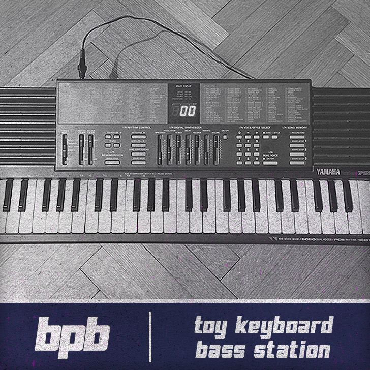 Toy Keyboard Bass Station