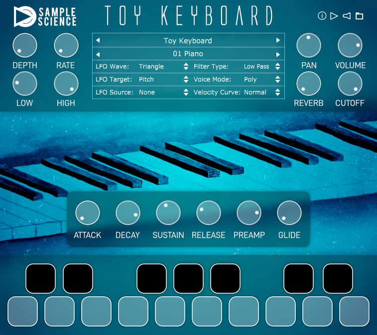 Toy Keyboard v2