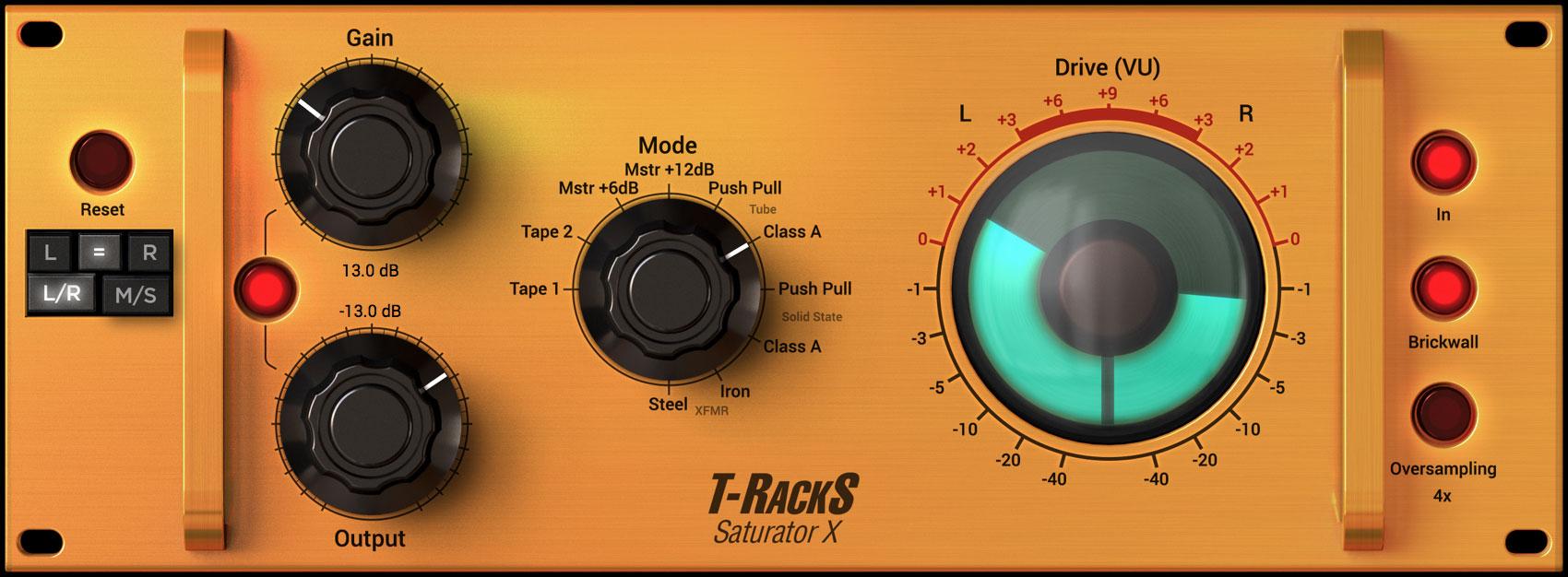 T-RackS Saturator X