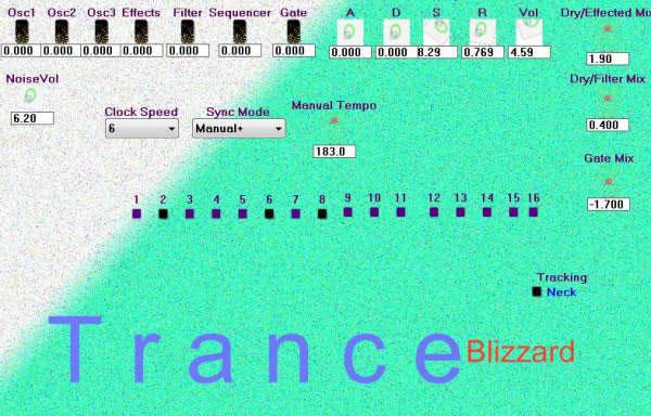 Trance Blizzard