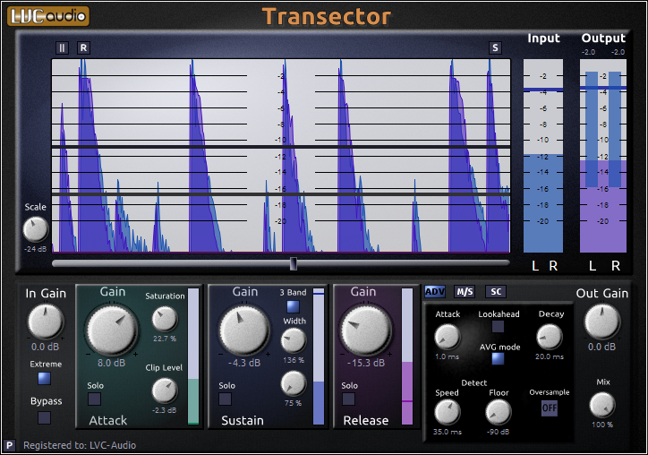 kvr transector by lvc audio transient design vst plugin audio units plugin vst 3 plugin. Black Bedroom Furniture Sets. Home Design Ideas