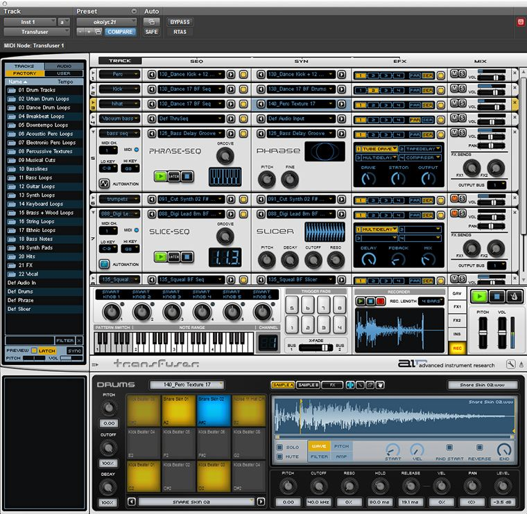 KVR: Transfuser by AIR Music Technology - Loop Workstation