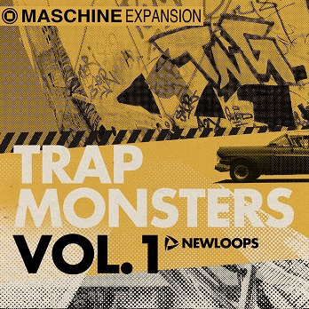Trap Monsters Vol.1 Maschine Expansion