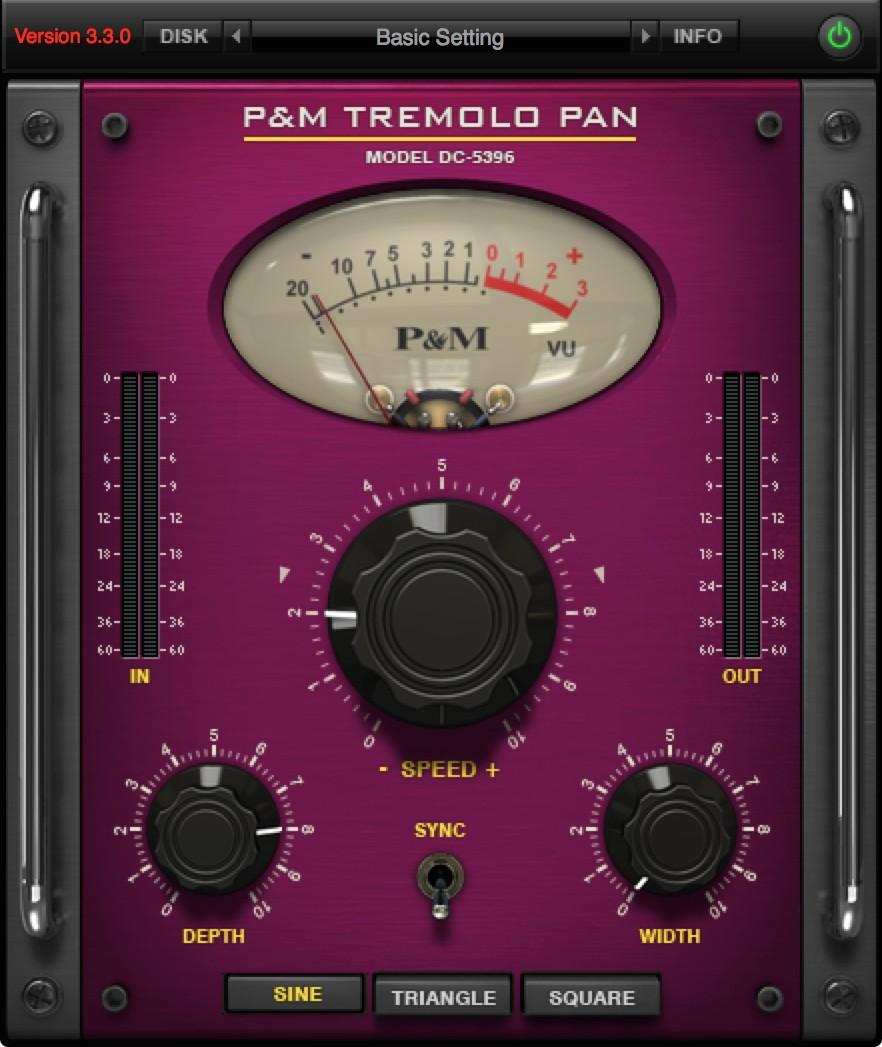 P&M TREMOLO PAN