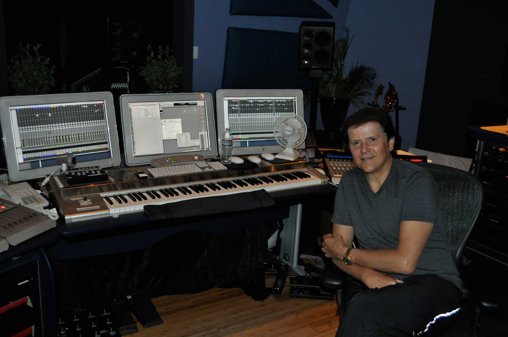 Trevor Rabin - Harmony of mind and spirit, analog, and digital