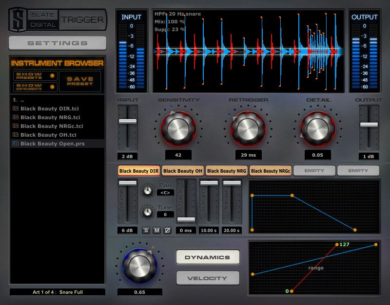 KVR: Trigger by Slate Digital - Drum Replacer VST Plugin
