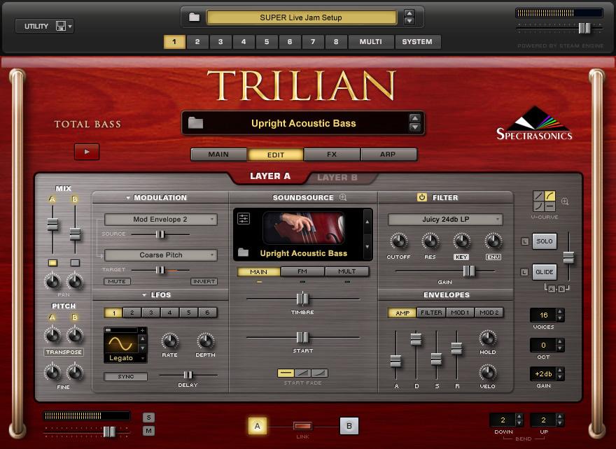 Kvr Trilian By Spectrasonics Total Bass Module Vst