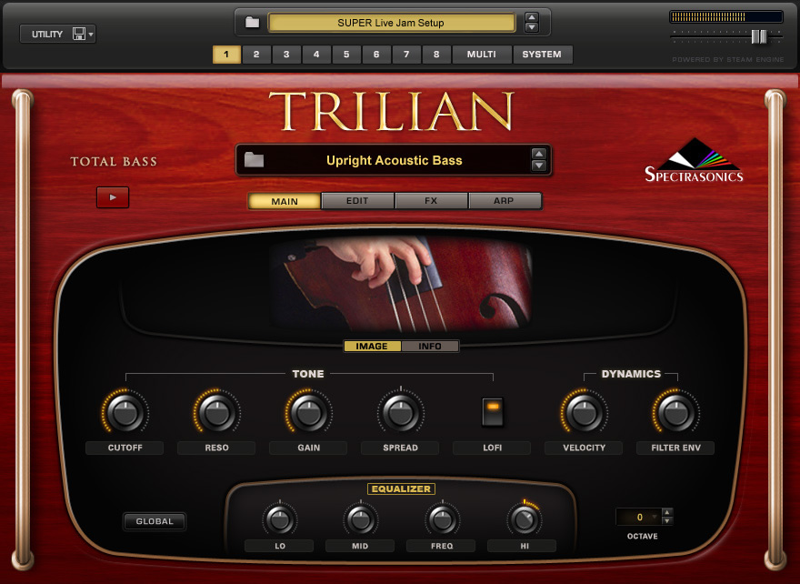KVR: Trilian by Spectrasonics - Total Bass Module VST Plugin