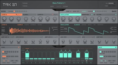 KVR: Native Instruments releases TRK-01 - Kick and Bass