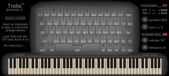 KVR: Trollo by Axxeom - MIDI Controller VST Plugin