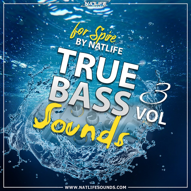 True Bass Sounds Vol.3 for Spire