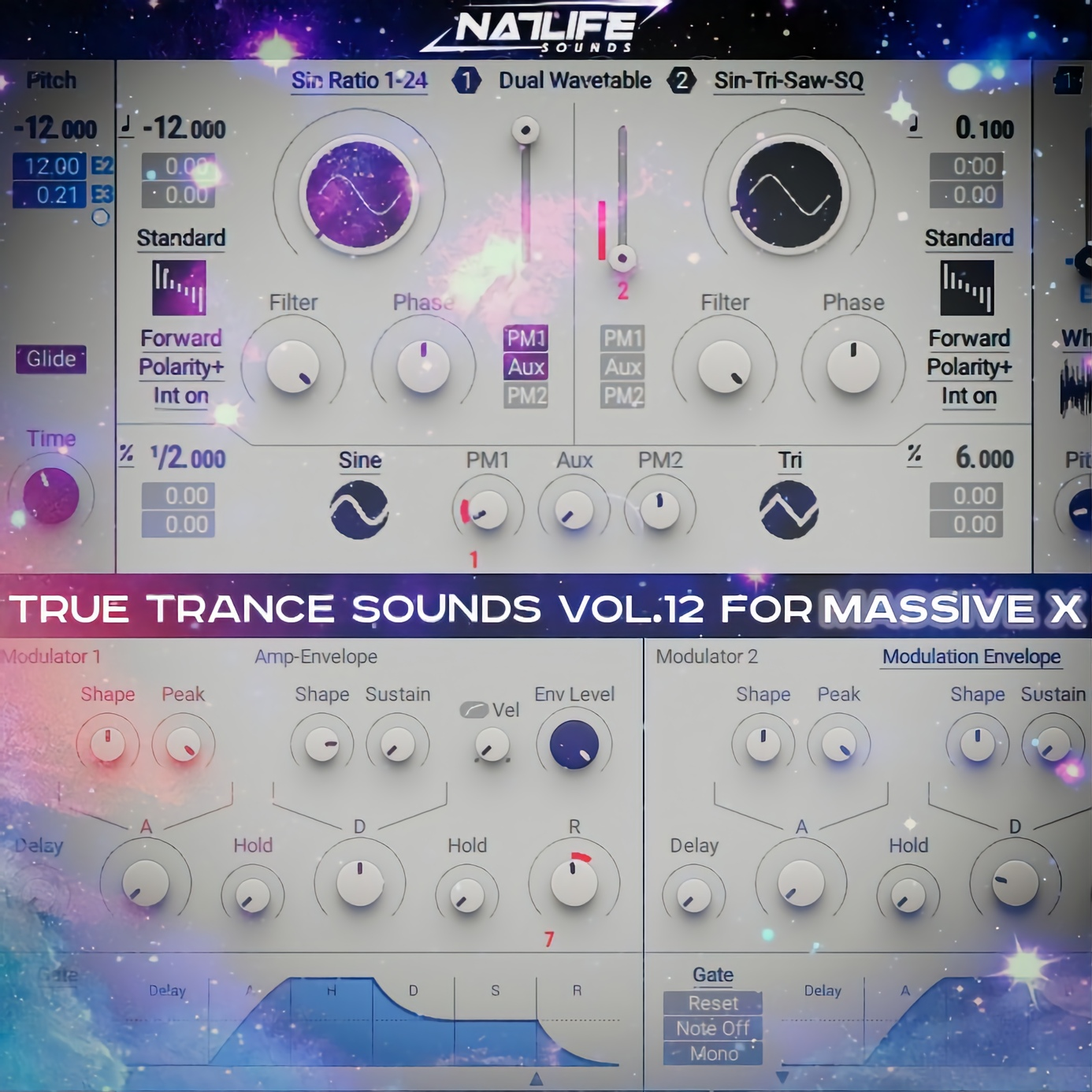 True Trance Sounds Vol.12 for Massive X