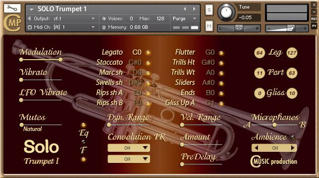 SOLO Trumpet I